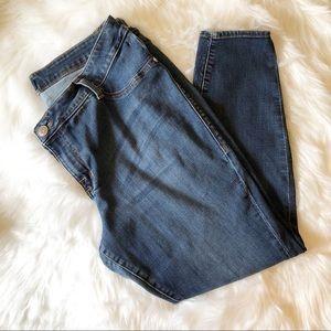 R&R Plus Size Jeans Straight Leg 20W Short